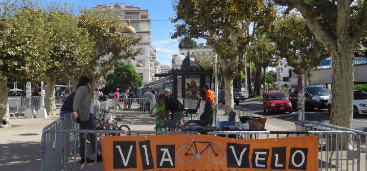 Bourse aux vélos à Cannes