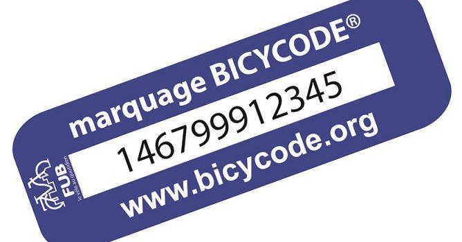 BICYCODE® – Marquage de vélos